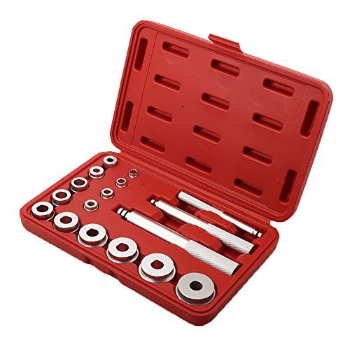 Gorgeri Lagereinsatz, 17-TLG. Aluminium-Wellenlager-Dichtungs-Treiber-Installations-Tool-Kit-Zubehör