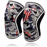 Best Knee Brace For Squats - Knee Sleeves (1 Pair), 7mm Compression Knee Braces Review
