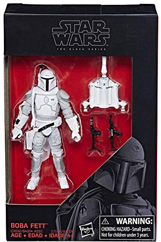 Hasbro Prototype Boba Fett Exclusive Figur (3,75 Inch) Star Wars The Black Series
