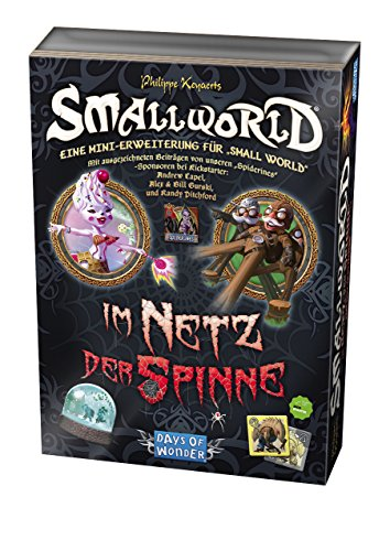 Days of Wonder 812696 - Smallworld - Im Netz der Spinne, Brettspiel