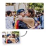 Fotoprix Puzzle Personalizado con tu Foto preferida y Texto de 96 Piezas | 5 Modelos Disponibles | Regalo Personalizado con Foto | Tamaño: 26x39 cms