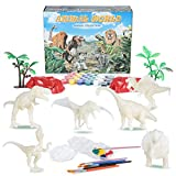 Diealles Shine Kit Pittura Dinosauro, 55 Pezzi Dinosauri di Pittura, Creativi Gioco Dinosauri per Bambini