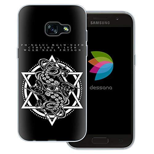dessana - Cover trasparente per Samsung Galaxy A3 (2017), con scritta anticata