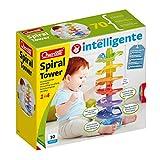 Quercetti-Quercetti-6501 Spiral Tower-Pista per Biglie Prima Infanzia, STEM Toy,...