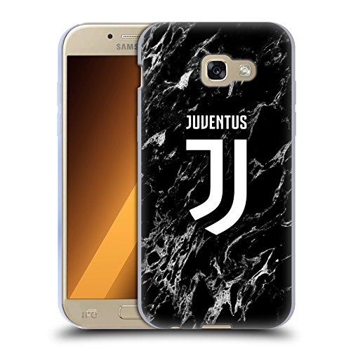 Head Case Designs Ufficiale Juventus Football Club Nero 2017/18 Marmoreo Cover in Morbido Gel Compatibile con Samsung Galaxy A5 (2017)