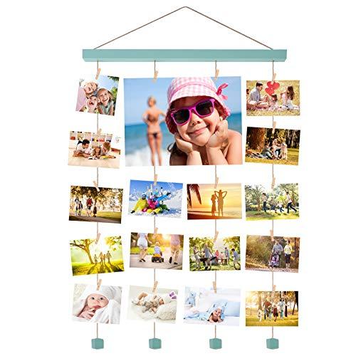 Halcent Marco Foto Pared Colgar Fotos e Lmágenes Multiple Marco de Fotos Decoración Hogar