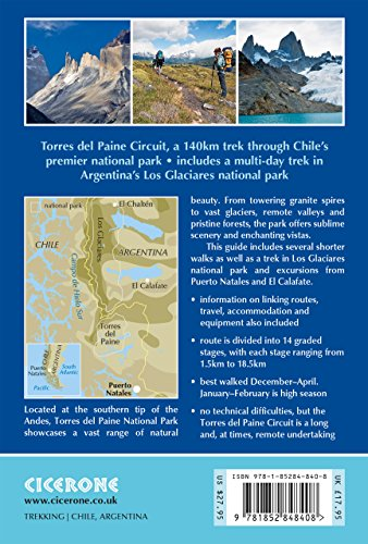 Torres del Paine: Chile's Premier National Park and Argentina's Los Glaciares National Park (International Trekking…