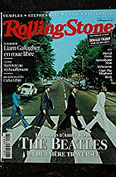 ROLLING STONE 118 OCTOBRE 2019 COVER THE BEATLES TEMPLES STEPHEN KING FOALS PATTI SMITH