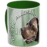 Pets-easy Mug de Chien Dogue Allemand Bleu