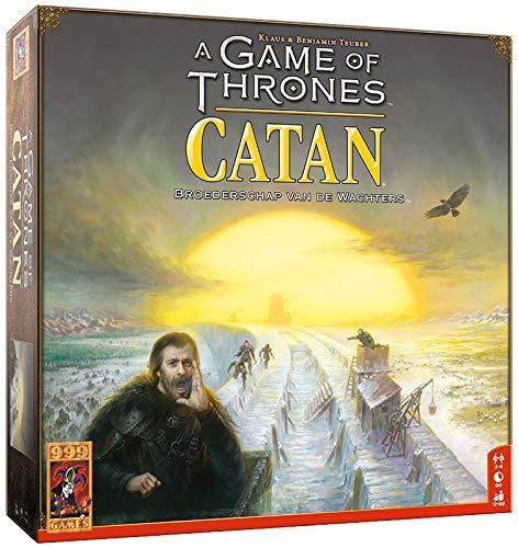 999 Games - A Game of Thrones: Catan Bordspel - vanaf 12 jaar - Een van de beste spellen van 2018 - Klaus & Benjamin Teuber - Modular board - voor 3 tot 4 spelers - 999-KOL47