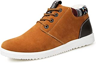 Men's Casual Shoes, Shock-Absorbing Warm Non-Slip Wear-Resistant Cotton Shoes, for Winter
