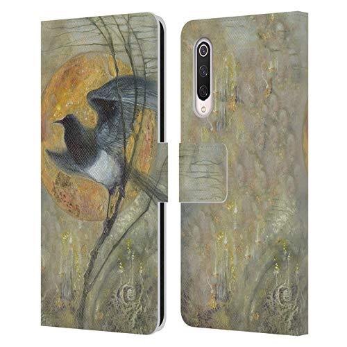 Officiële Stephanie Law Ekster Vreemde dromen Lederen Book Portemonnee Cover Compatibel voor Xiaomi Mi 9 Pro / 5G