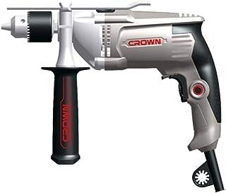 Crown CT10130 Electric Impact Drill Reversable, 13 mm - 810 Watt