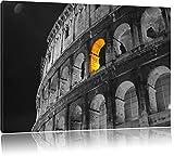schönes Amphitheater in Rom schwarz/weiß Format: 120x80