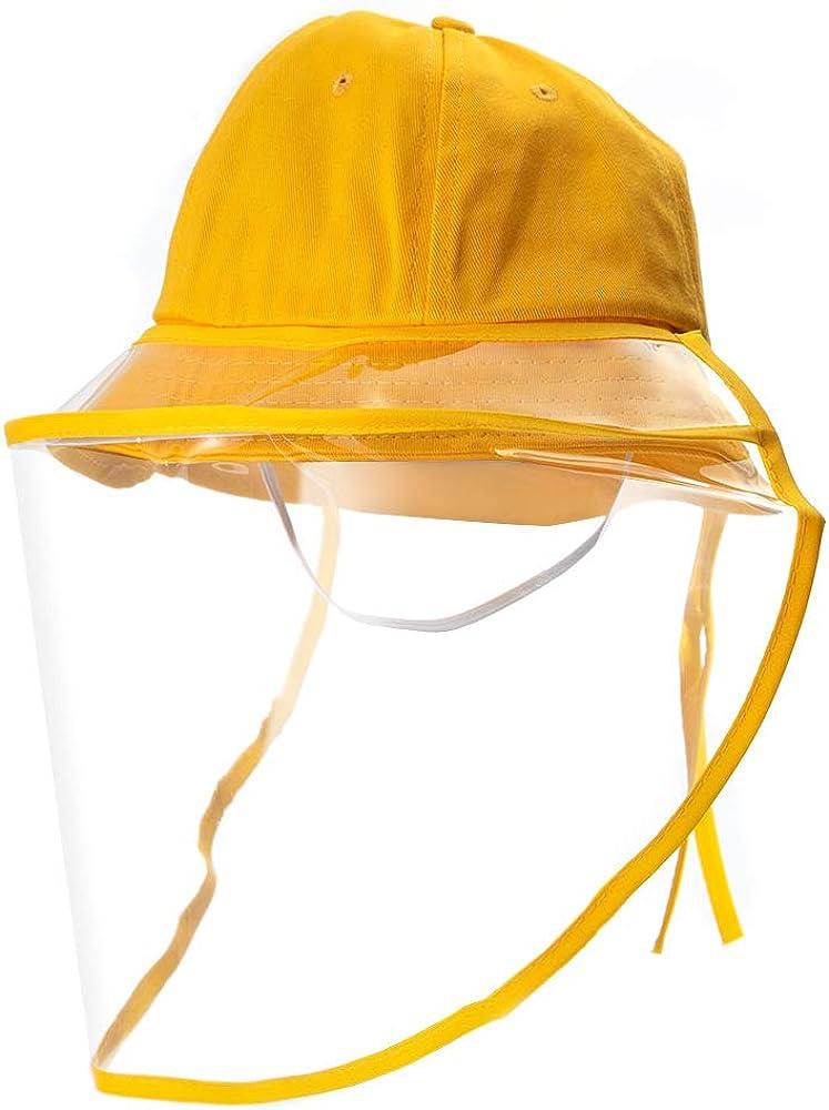 Protective Sun Anti Saliva-Spitting Fog Dust Outdoor Adjustable Fisherman Hat