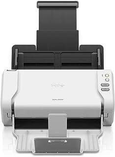 Brother ADS-2200 Scanner Documentale Desktop con Duplex, USB, Bianco