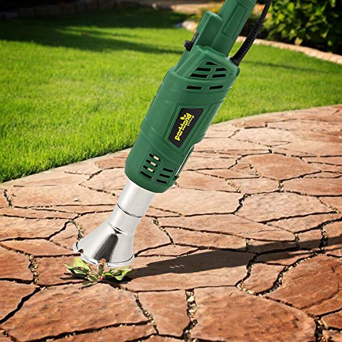 Parkland® 2000W Electric Weed Killer Burner Wand Thermal Weeding Stick - up to 600 Degree Weeder Tool for Garden, Patio, Driveway by