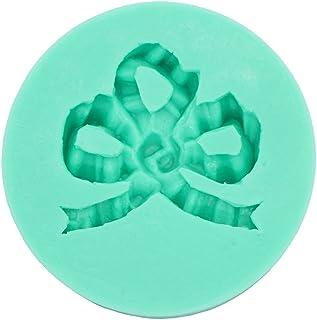 《モモミュゼット》シリコンモールド リボン レジン 石膏 アロマストーン 手作り 石鹸 キャンドル 樹脂 粘土 型 抜き型 MD-110072