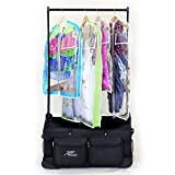 Closet Trolley Dance Bag with Garment Rack