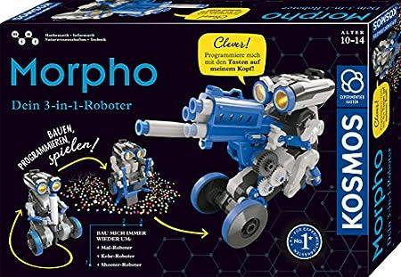 Kosmos Morpho - Der 3-in-1 Roboter Spielzeug Experimentierkasten