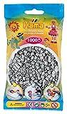 Hama - 207-17 - Loisirs Créatifs - Perles et Bijoux - Sachet 1000 Perles - Gris