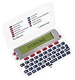 Lexibook-Le Dictionnaire du français LAROUSSE, définitions, synonymes, conjugaison, correcteur d'orthographe, à Piles, Blanc/Rouge, D850FR