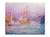 The Poster Corp Paul Signac – Harbour at Marseilles
