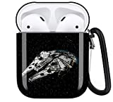 Republic Battleship - Star Wars Aripod Personalise Custom, AirPod Case Cover Compatiable with Apple AirPods 1st/2nd,Full Protective Durable Shockproof Drop Proof with Keychain Compatible