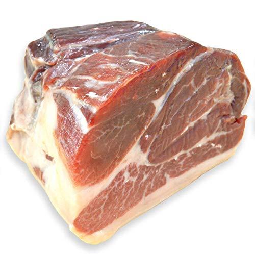 グルメソムリエ ハモンイベリコ ベジョータ ミニ原木 イベリコ豚 生ハム ブロック スペイン産 44ヶ月熟成 (ピエルナ/ハバキ 500g)