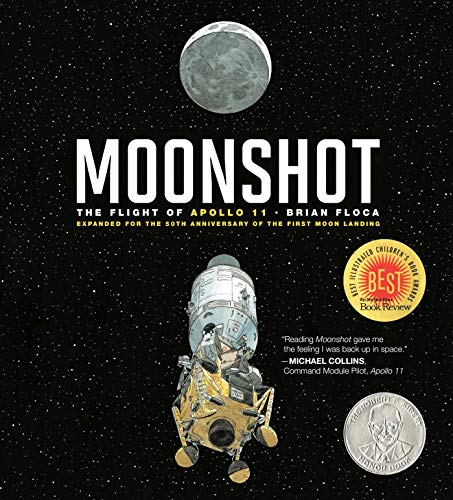 Compare Textbook Prices for Moonshot: The Flight of Apollo 11 Richard Jackson Books Atheneum Hardcover Expanded ed. Edition ISBN 9781534440302 by Floca, Brian,Floca, Brian