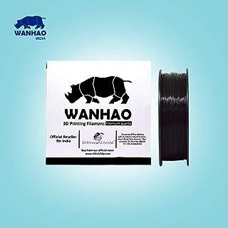 Wanhao 3.00mm Abs 3D Printer Filament - By 3D Print World (Black)