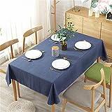 Mantel De Lino Impermeable De Color Sólido, Mantel De Hotel para El Hogar, Mantel De Algodón Y Lino De Hotel De Cafetería