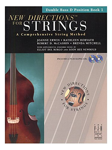 New Directions for Strings Double Bass Book 1 (D Position)