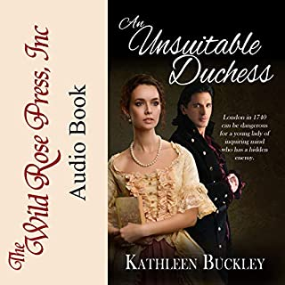 An Unsuitable Duchess audiobook cover art