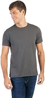 T-Shirt Básica Fit Verde Musgo