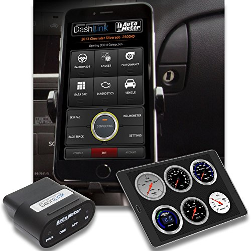 Great Features Of AUTO METER 6032 Black DashLink