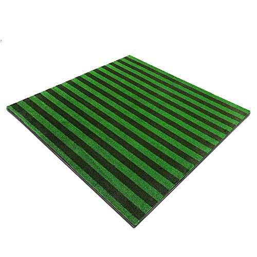 Best Buy! QPABS SHOPS Golf Practice Ball Mat Simulation Nylon Grass Ball Mat with Anti-Slip Bottom P...