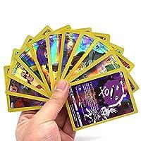 カード 5.0ピース英語ポケモン V VMAXカード輝く GXゲームカードトレーディングバトルカルテコレクションブースターキッズ玩具ギフト おもちゃ (Color : 30EX-20GX)