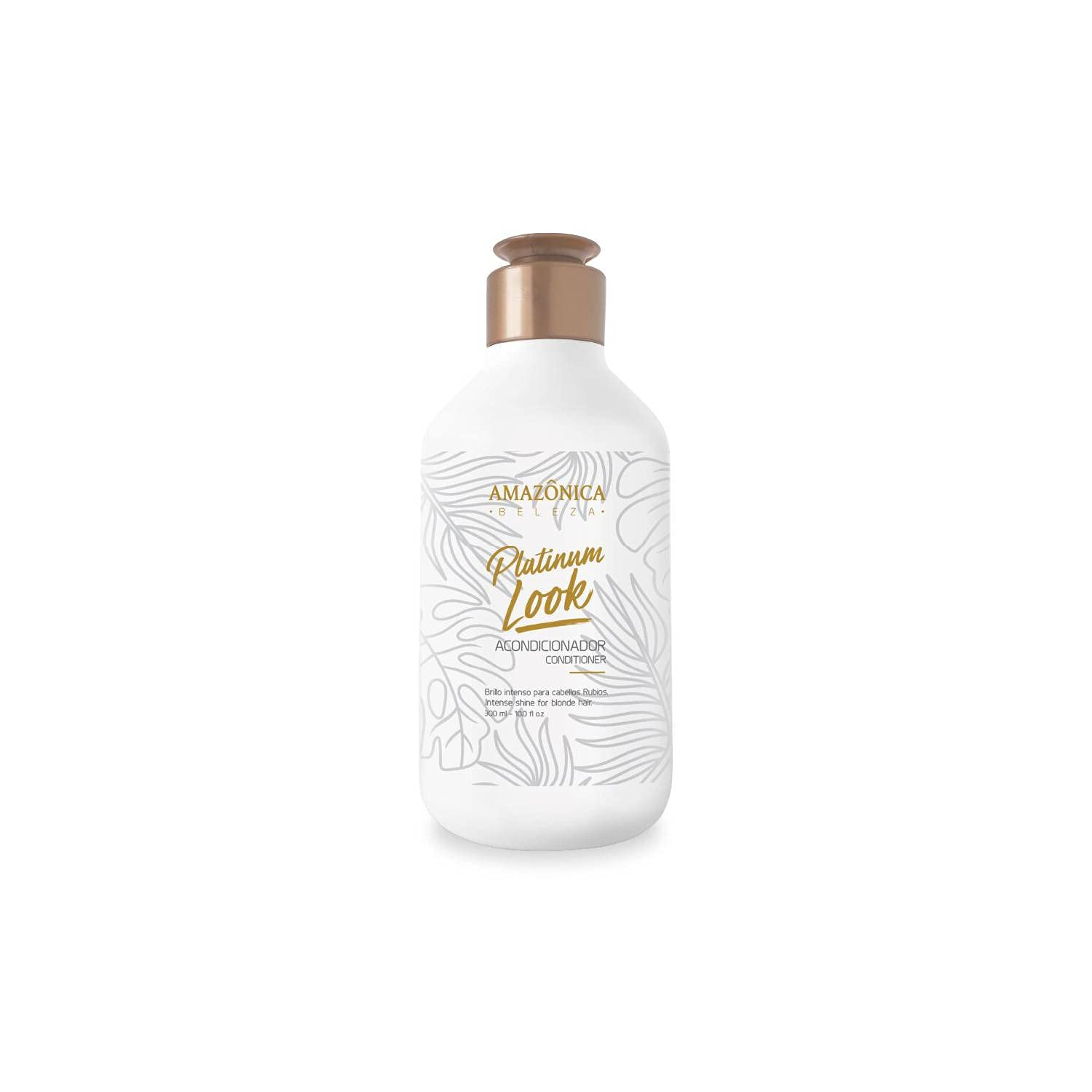 AMAZONICA BELEZA Platinum specialty shop Look Conditioner Blonder for Outlet ☆ Free Shipping 300 Hair