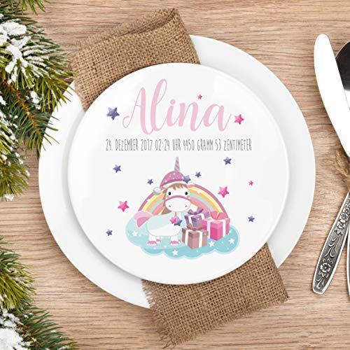 Teller Kinderteller Melaminteller Weihnachtsteller SE Alina