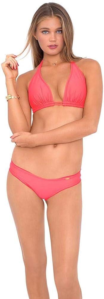 Luli Fama Women's Cosita Buena Wavey Full Ruched Back Bikini Bottom
