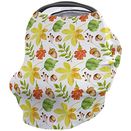 Best Bargain Baby Nursing Cover Breastfeeding Cover Soft Breathable Chemical-Free 360° Coverage, Fa...