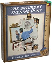 Norman Rockwell Triple Self Portrait, 1000 Piece Puzzle