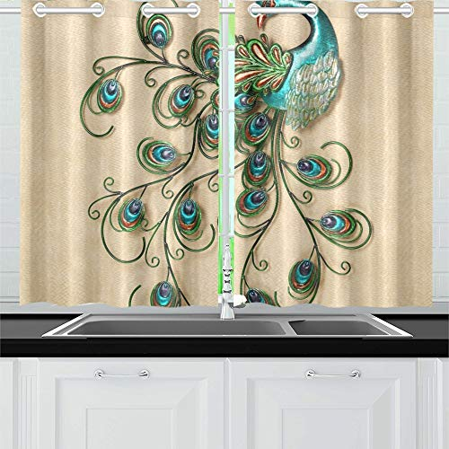 Images About Wall Art On Pinterest Outdoor Metal W Kitchen Curtains Window Curtain Tiers for Café, Bath, Laundry, Living Room Bedroom 26 X 39 Inch 2 Pieces