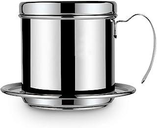 HelloCreate filtro de cafetera vietnamita, cafetera olla taza de acero inoxidable fabricante de filtro de goteo de café in...