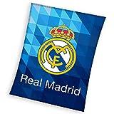 Real Madrid Fleecedecke - Fleece Blanket - couverture en Laine Polaire -coperta in Pile - Manta de Lana 150x200cm RM182067
