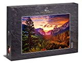 Ulmer Puzzleschmiede - Puzzle 'Buenos días, Yosemite': Puzzle de 1000 piezas - Amanecer en el Valle de Yosemite, California, Estados Unidos