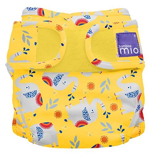 Bambino Mio, miosoft windelüberhose, elefanten stampfen, Größe 2 (9kg+)