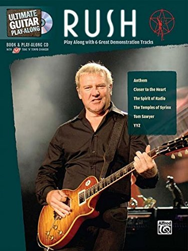 Ultimate Guitar Play-Along Rush: Authentic Guitar TAB (Book & CD) (Ultimate Play-along)