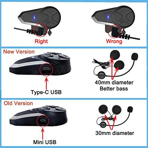 Product Image 7: THOKWOK Motorcycle Bluetooth Headset
